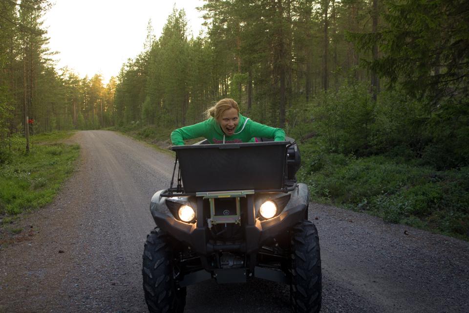 katta-fyrhjuling