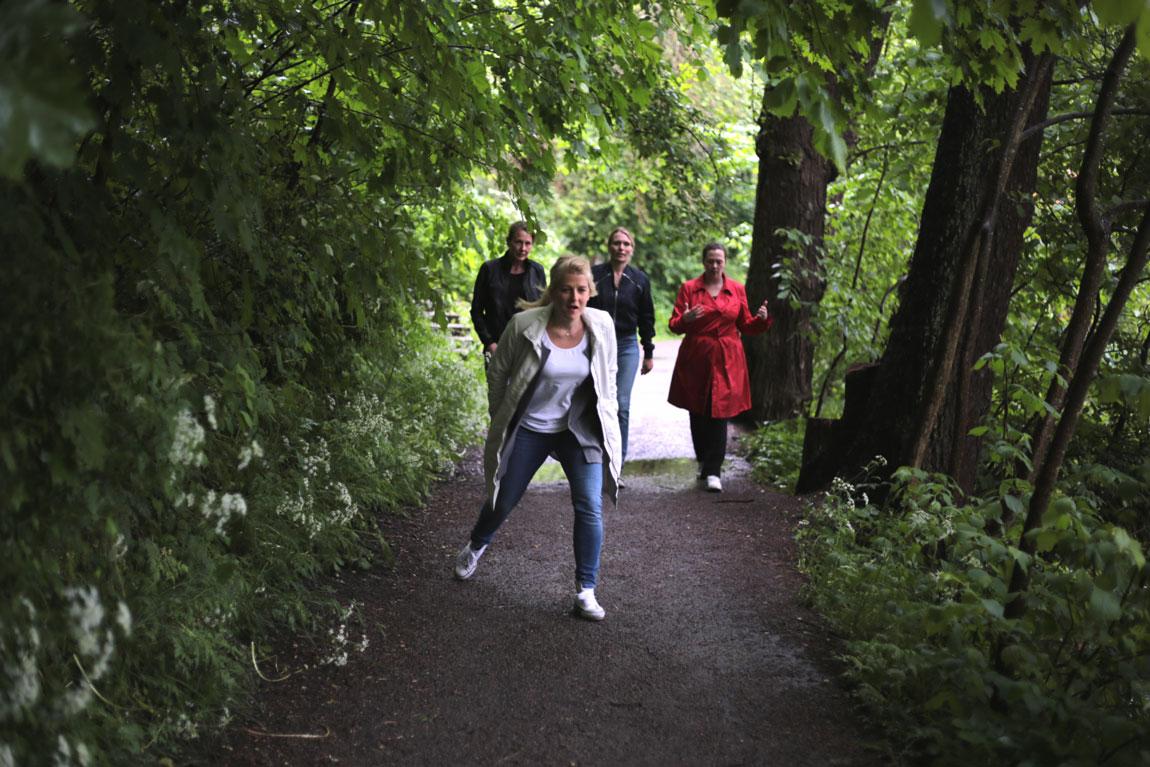 green-walk