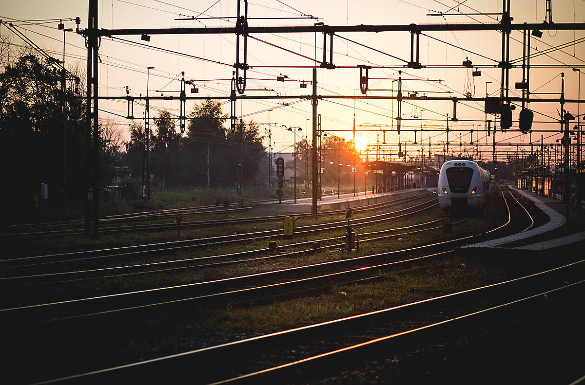 Norrköping-station-sunrise