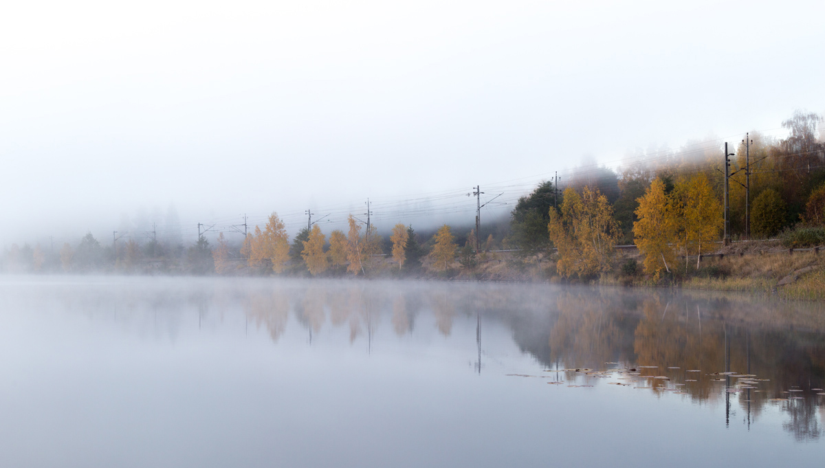 Morgon vid Näknen