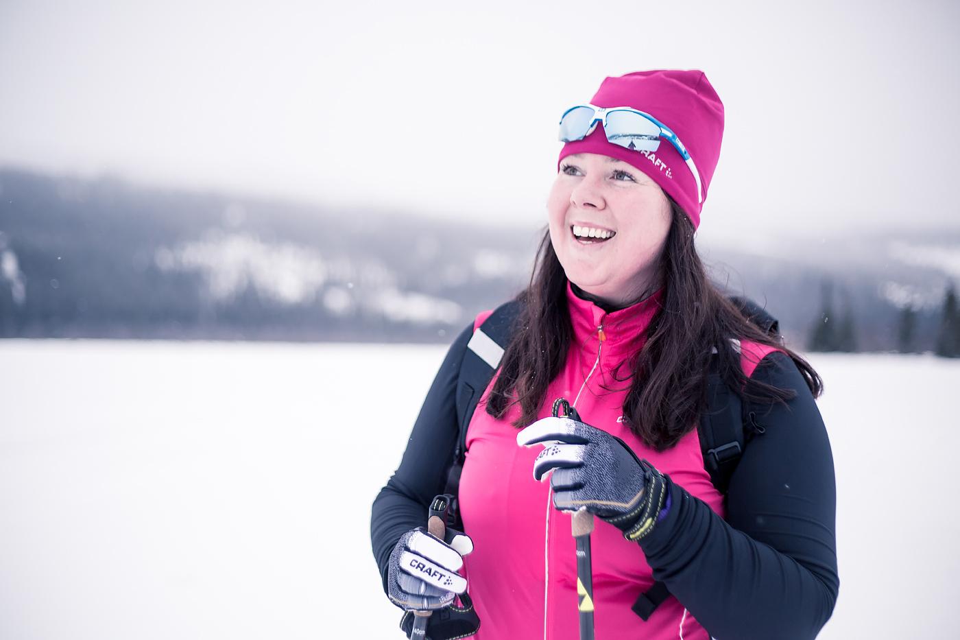 Längdskidor på Åresjön