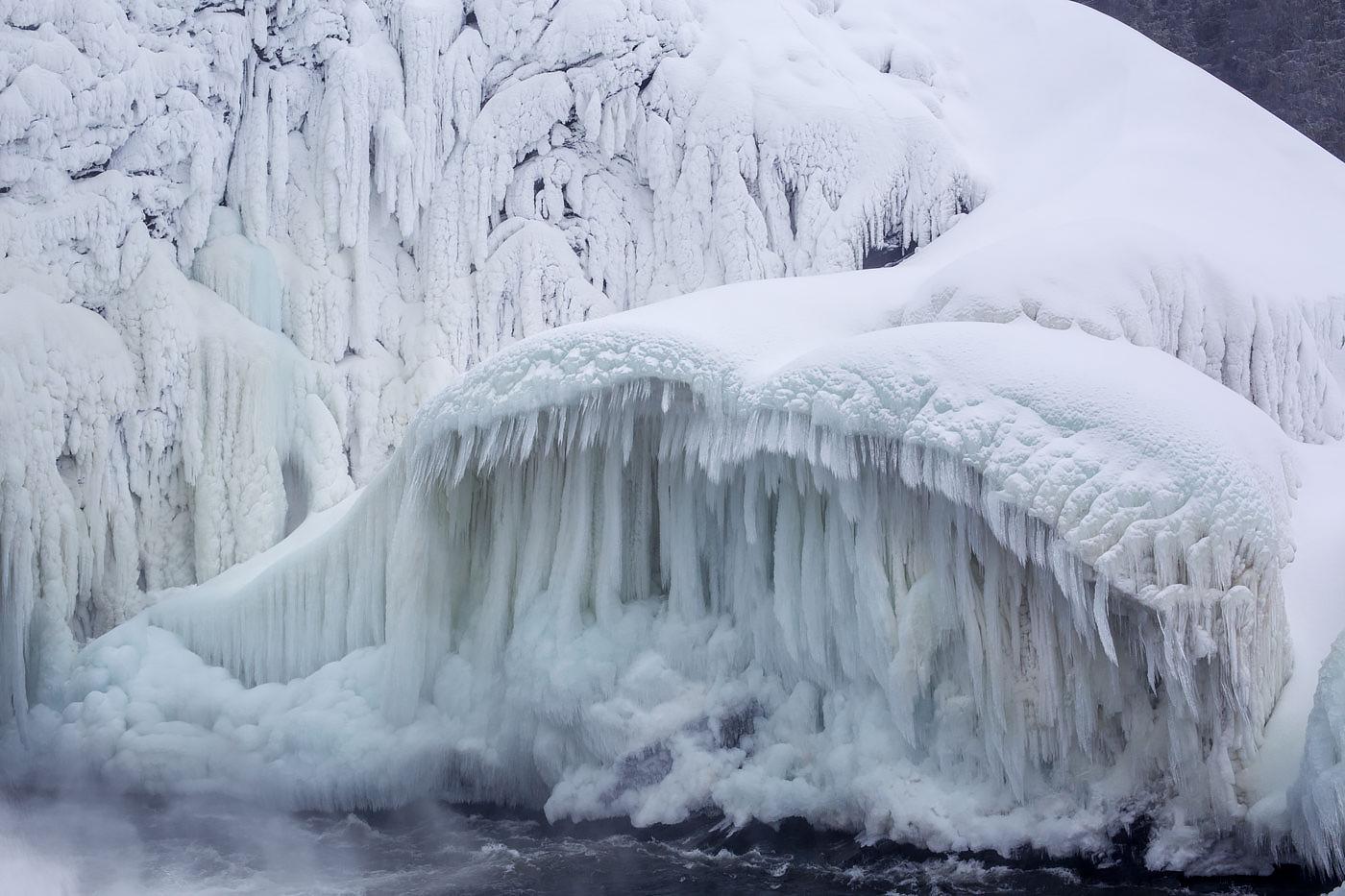 Tännforsen-iceberg