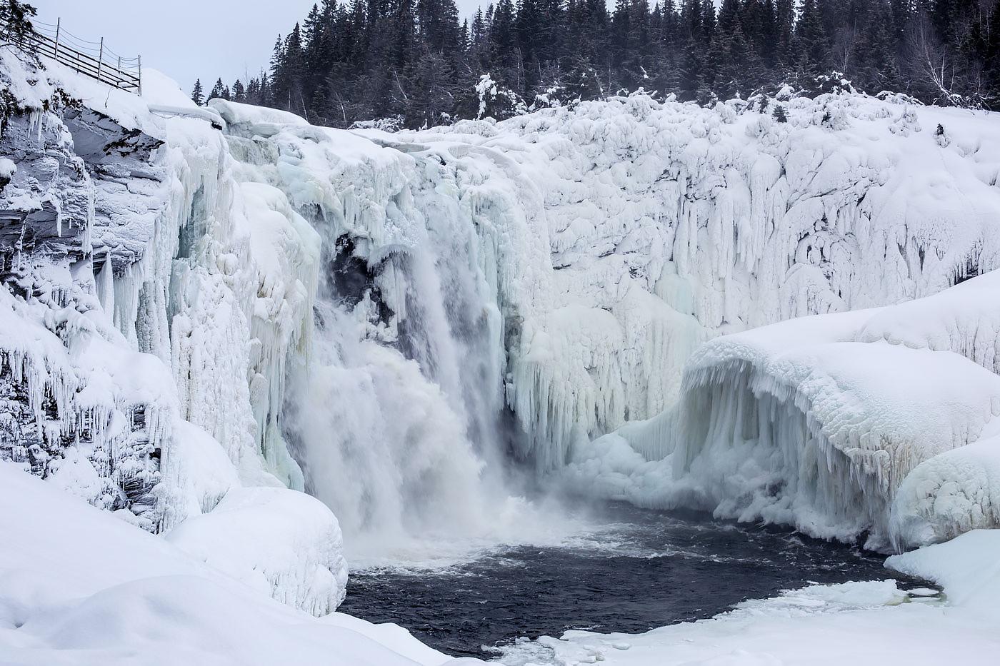 Tännforsen-waterfall