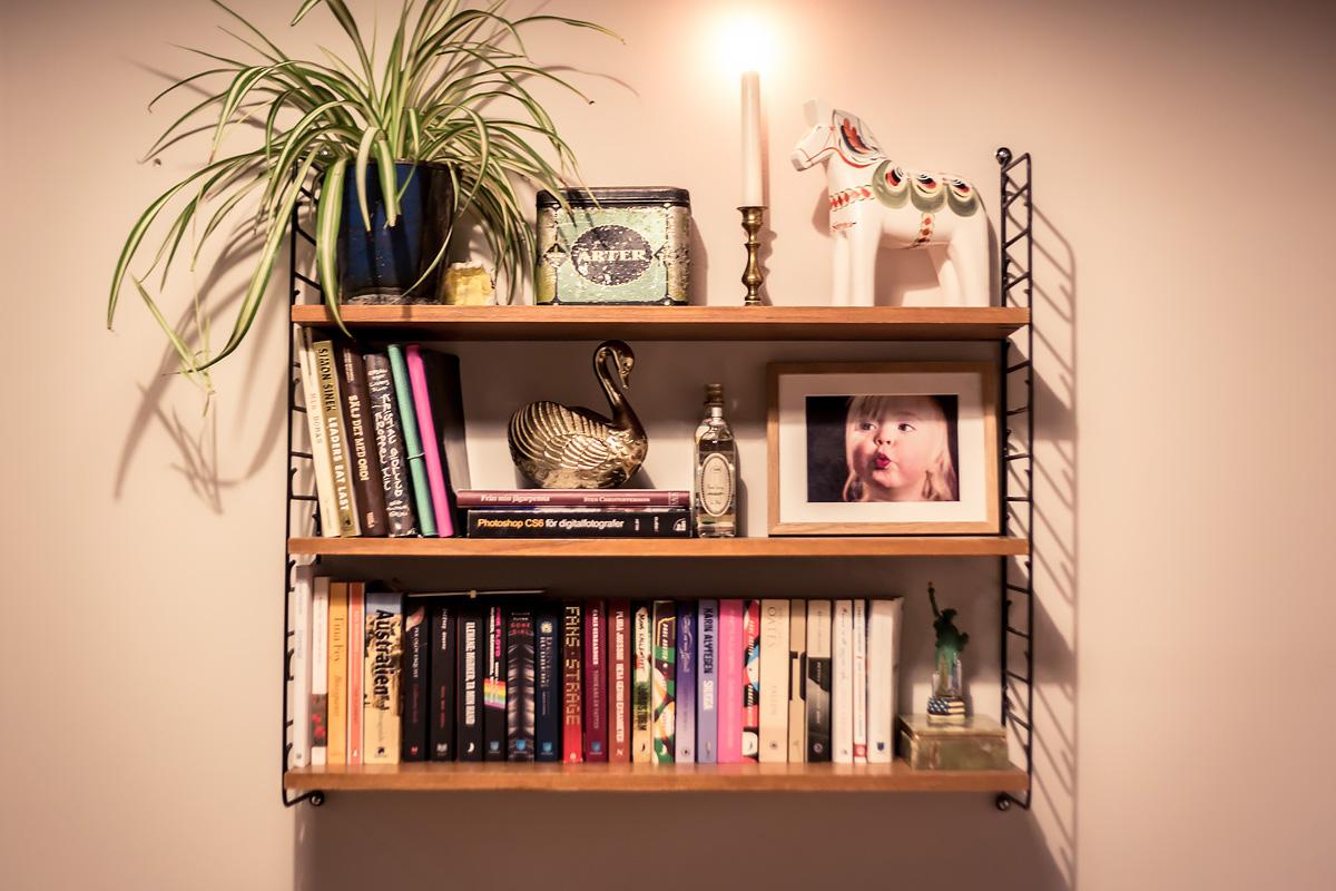 hemmakontor bokhylla