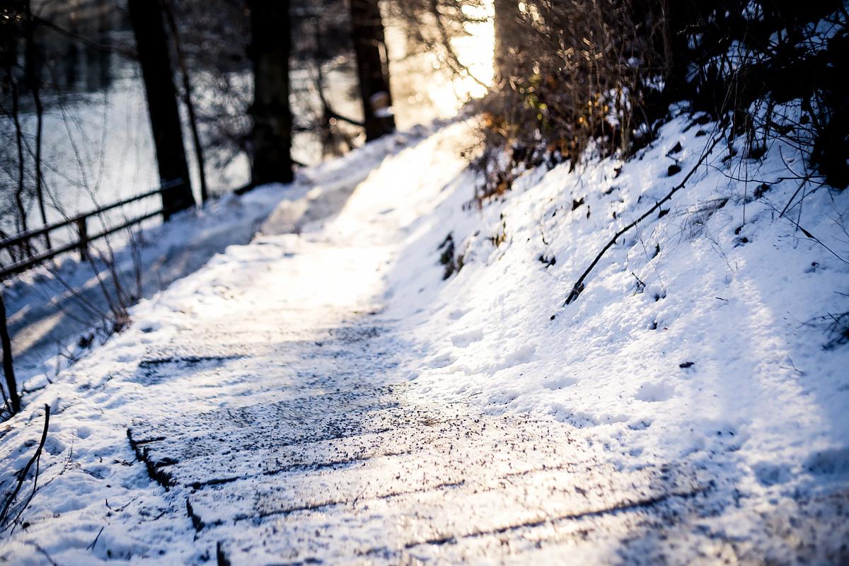 [:sv]Bitande vacker vinterpromenad[:]