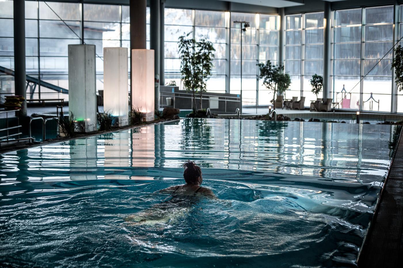 Spa och Sauna World på Holiday Club Åre