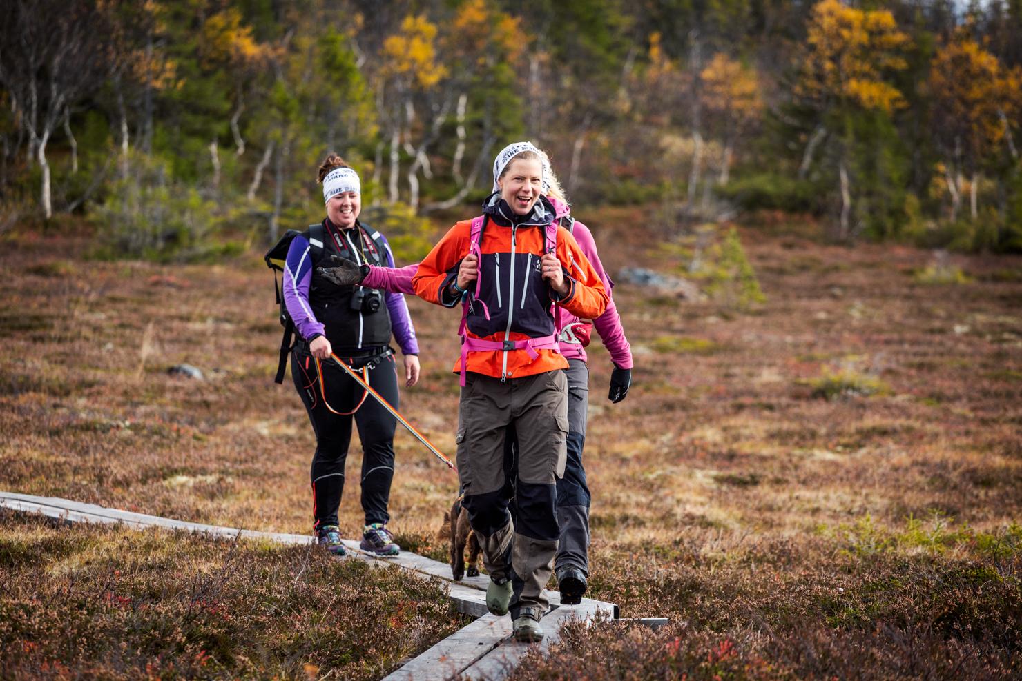 vandring i Ottsjö