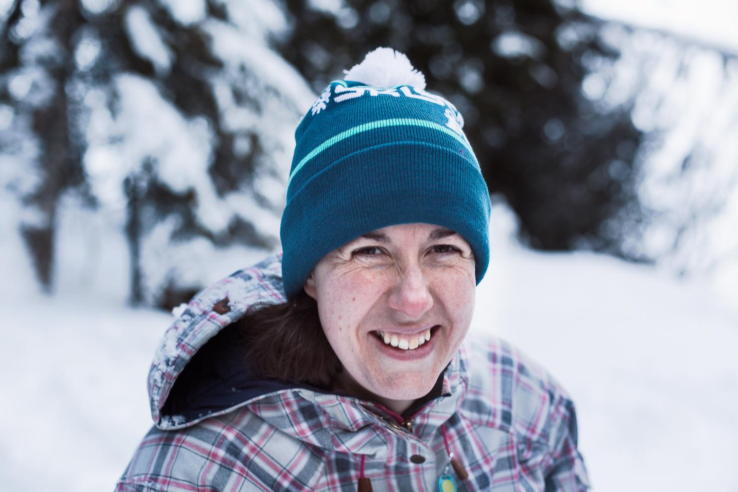 vandra med snöskor i Åre