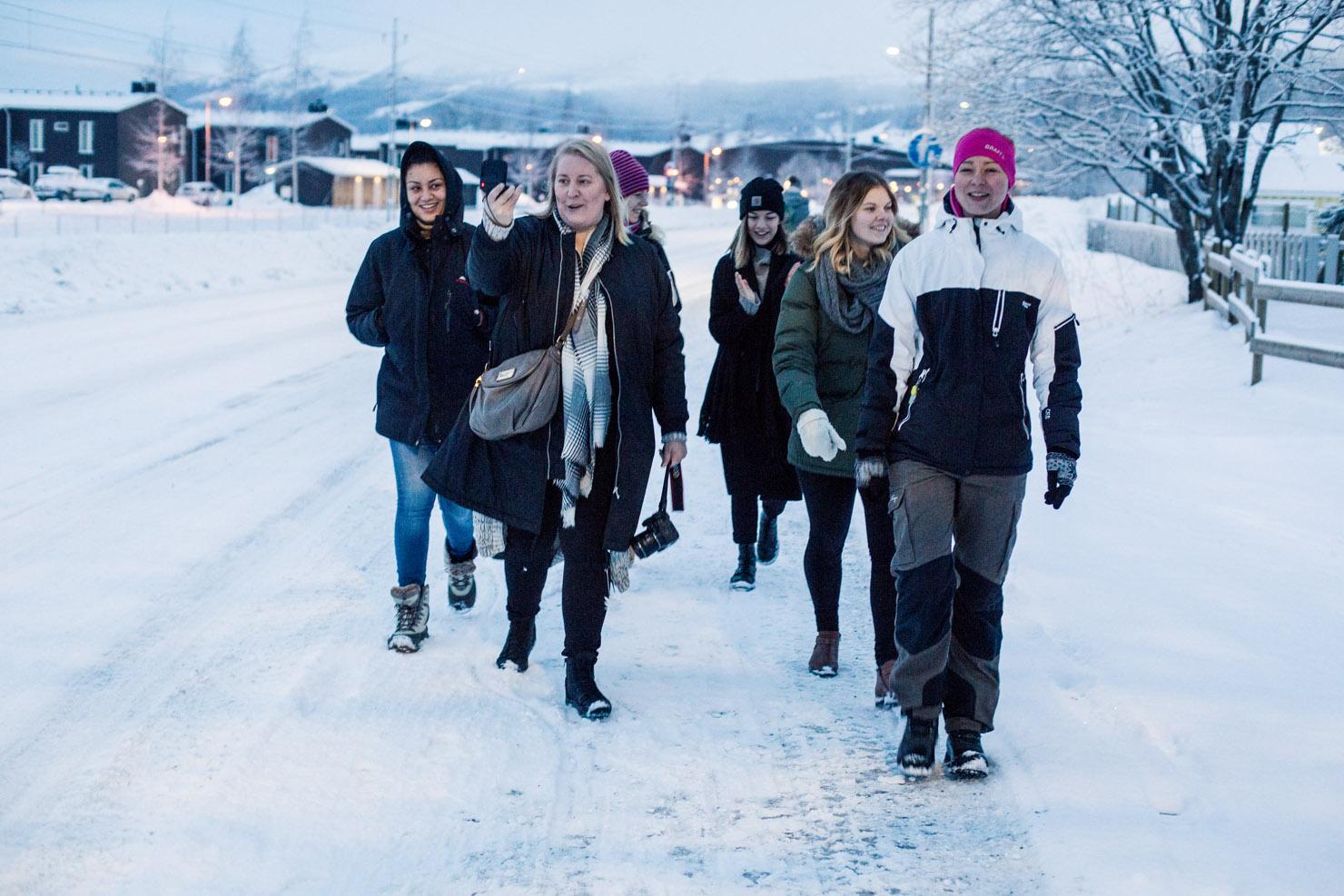 Själv är en bra dräng men gemenskap är starkare – Winter workation