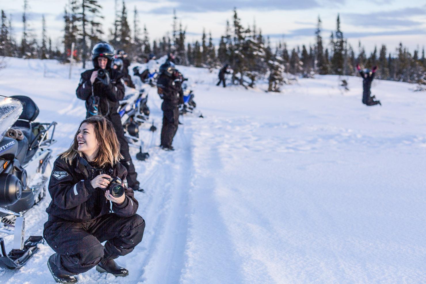 Kvinnliga äventyrare i Åre