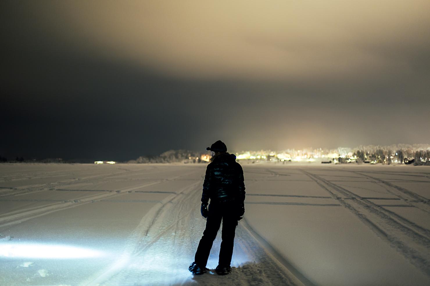snöskopromenad