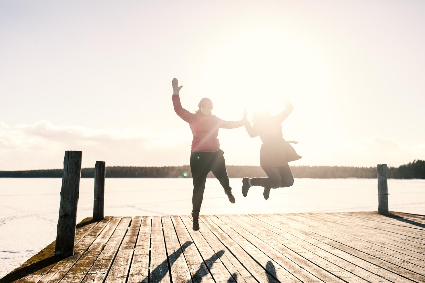 En dag full av liv – spontantur till Åre