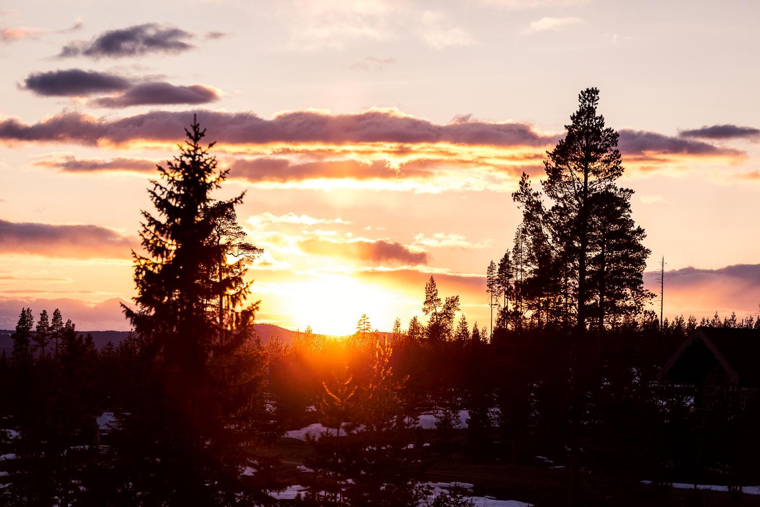 Chasing sunsets och minnen av mamma
