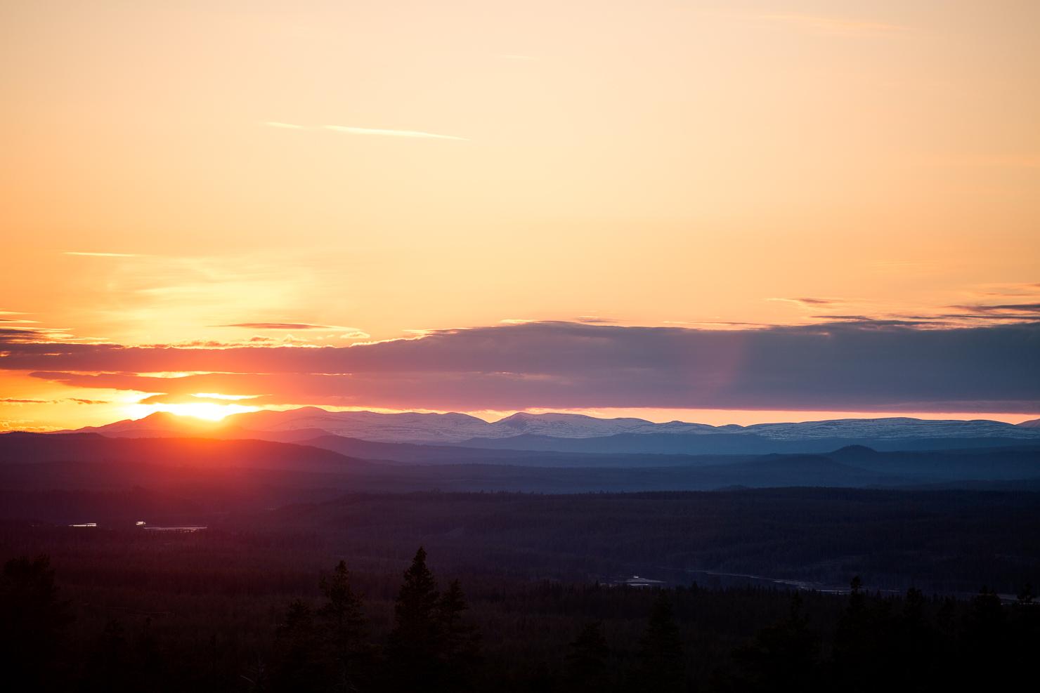 Solnedgång - bättre än Eurovision