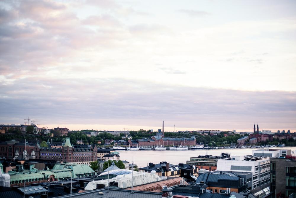Sommar-Stockholm runt på fyra terrasser