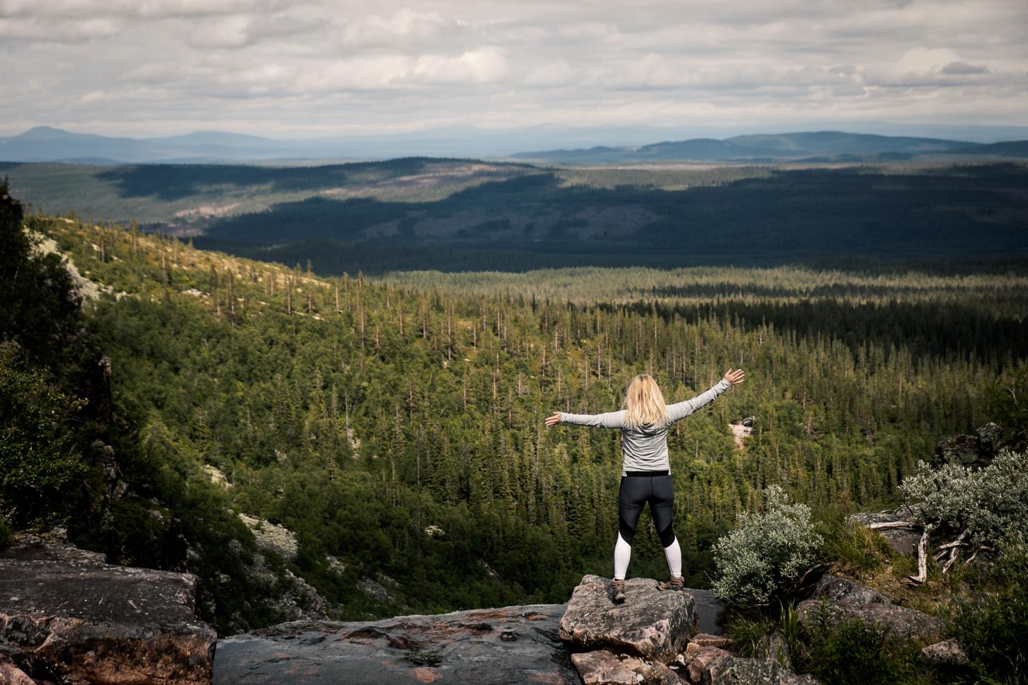 Katta vid Njupeskär