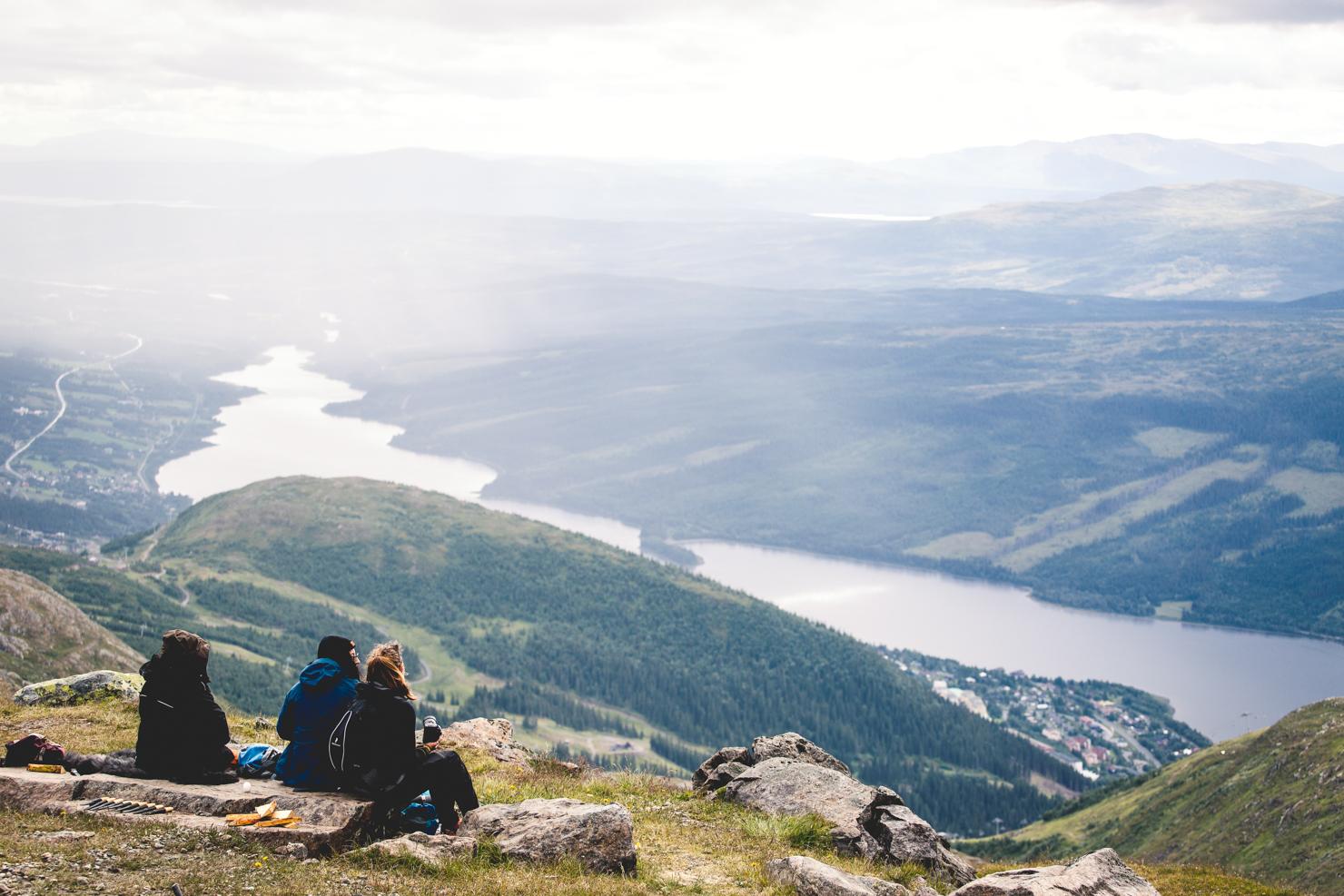 Topptur till Åreskutan med kvinnliga äventyrare