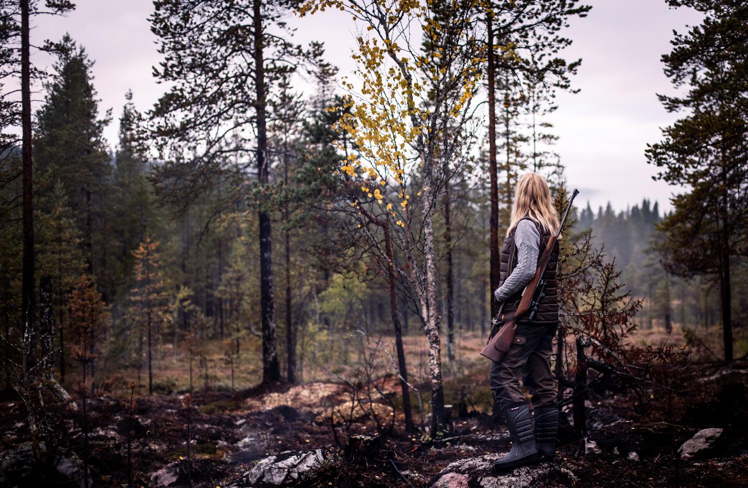 Älgjakt - en dag i skog och fjäll