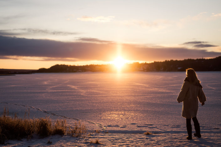 Livet på landet - soluppgång