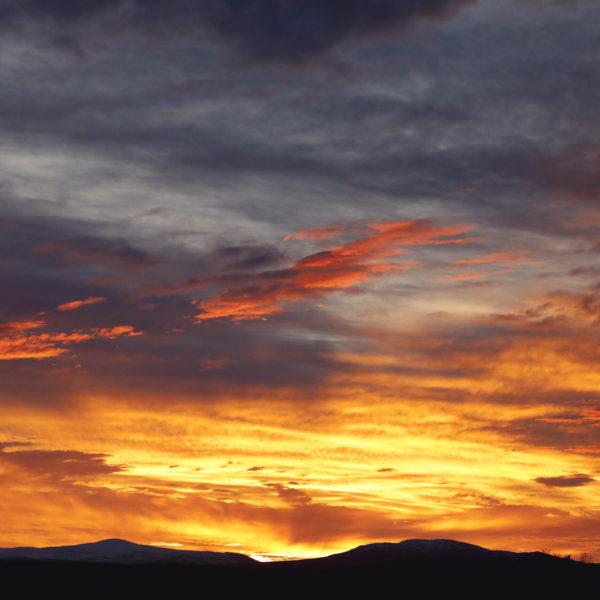 Solnedgång Åre