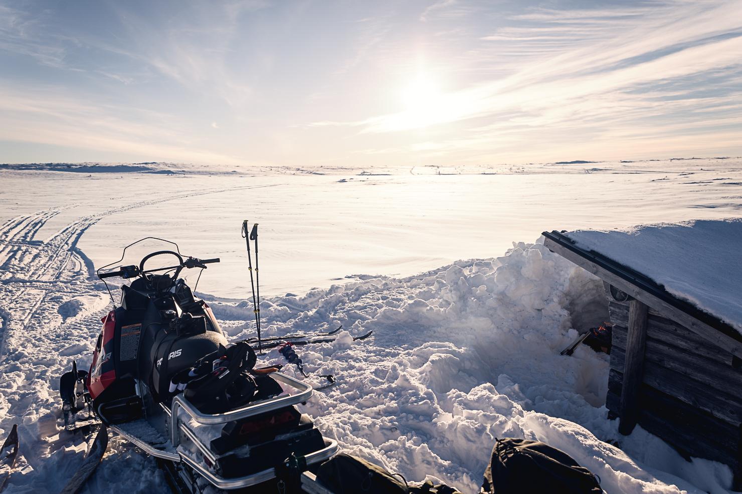 Eldplats vid Rösjöstugorna på Fulufjället