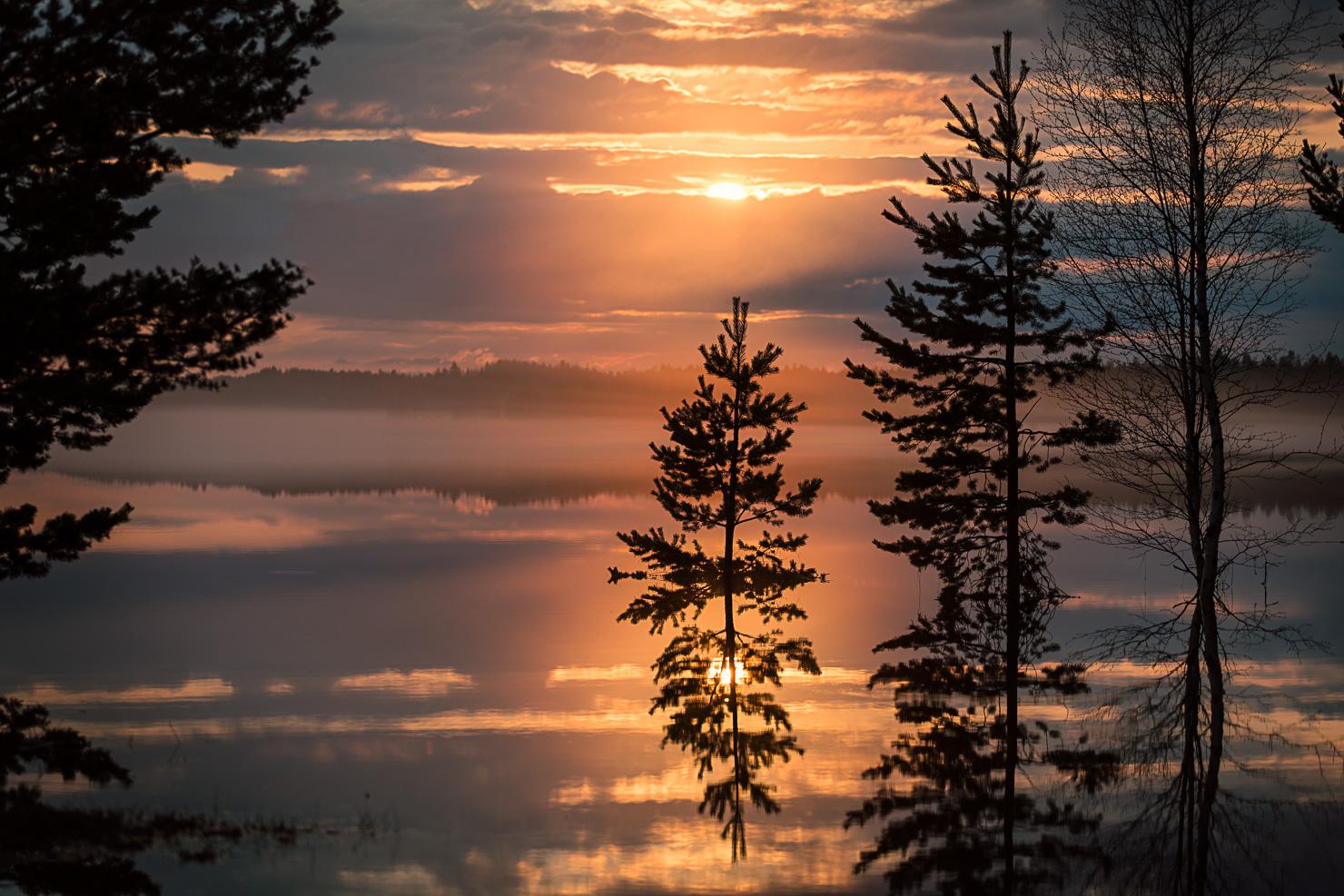 Speglingar i Särnsjön