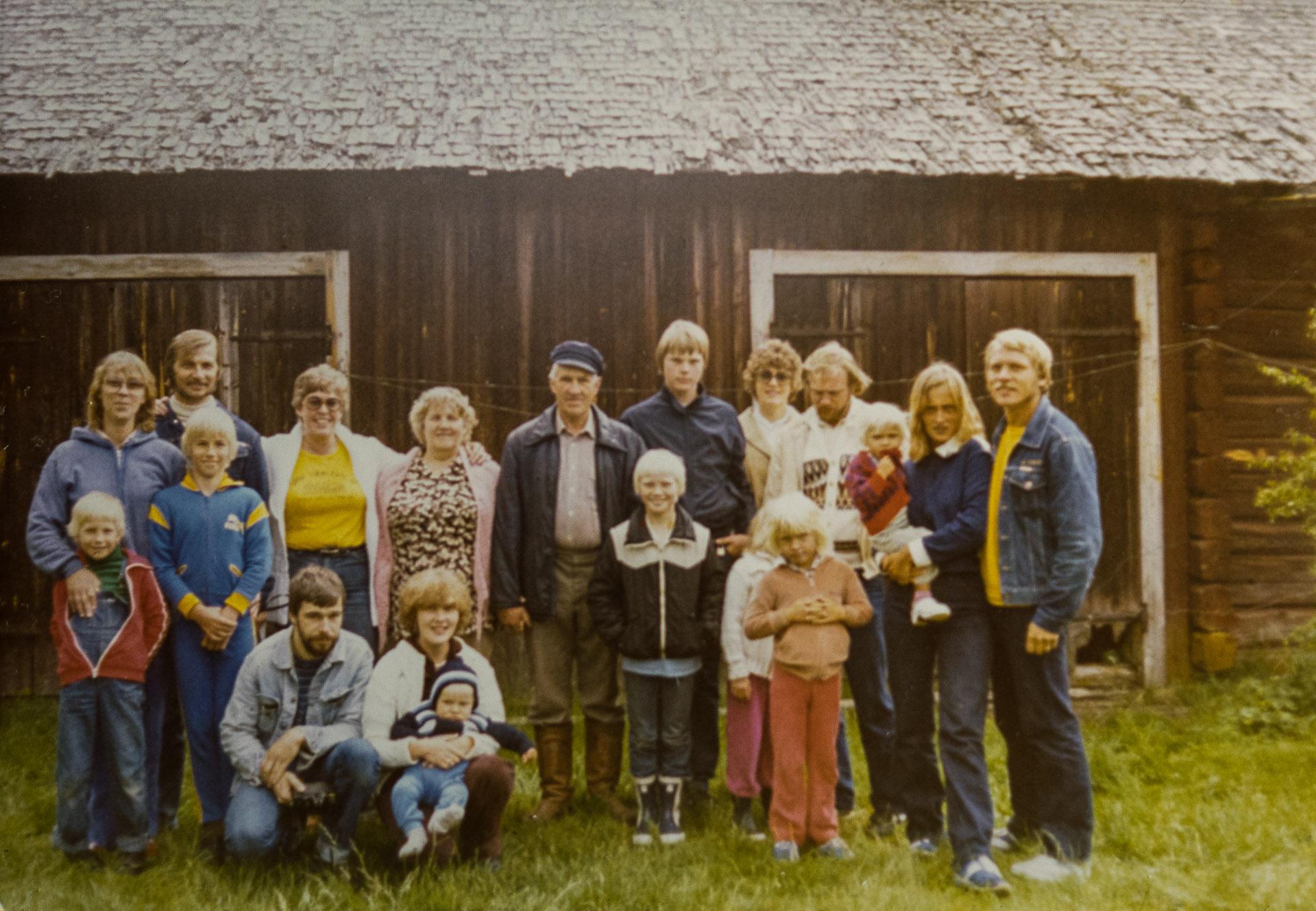 Släktfoto 1980