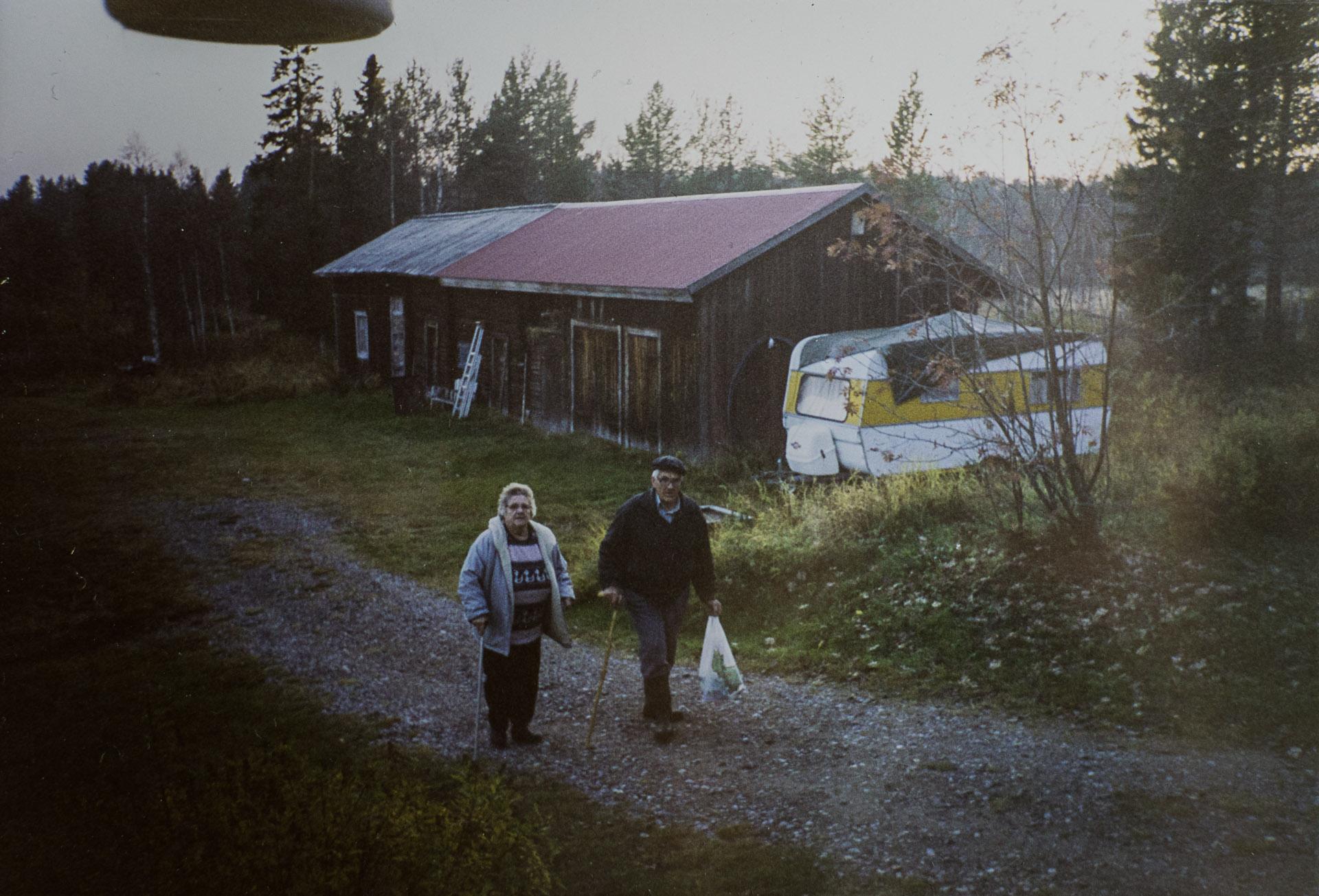 Farmor & farfar i Nordomsjön