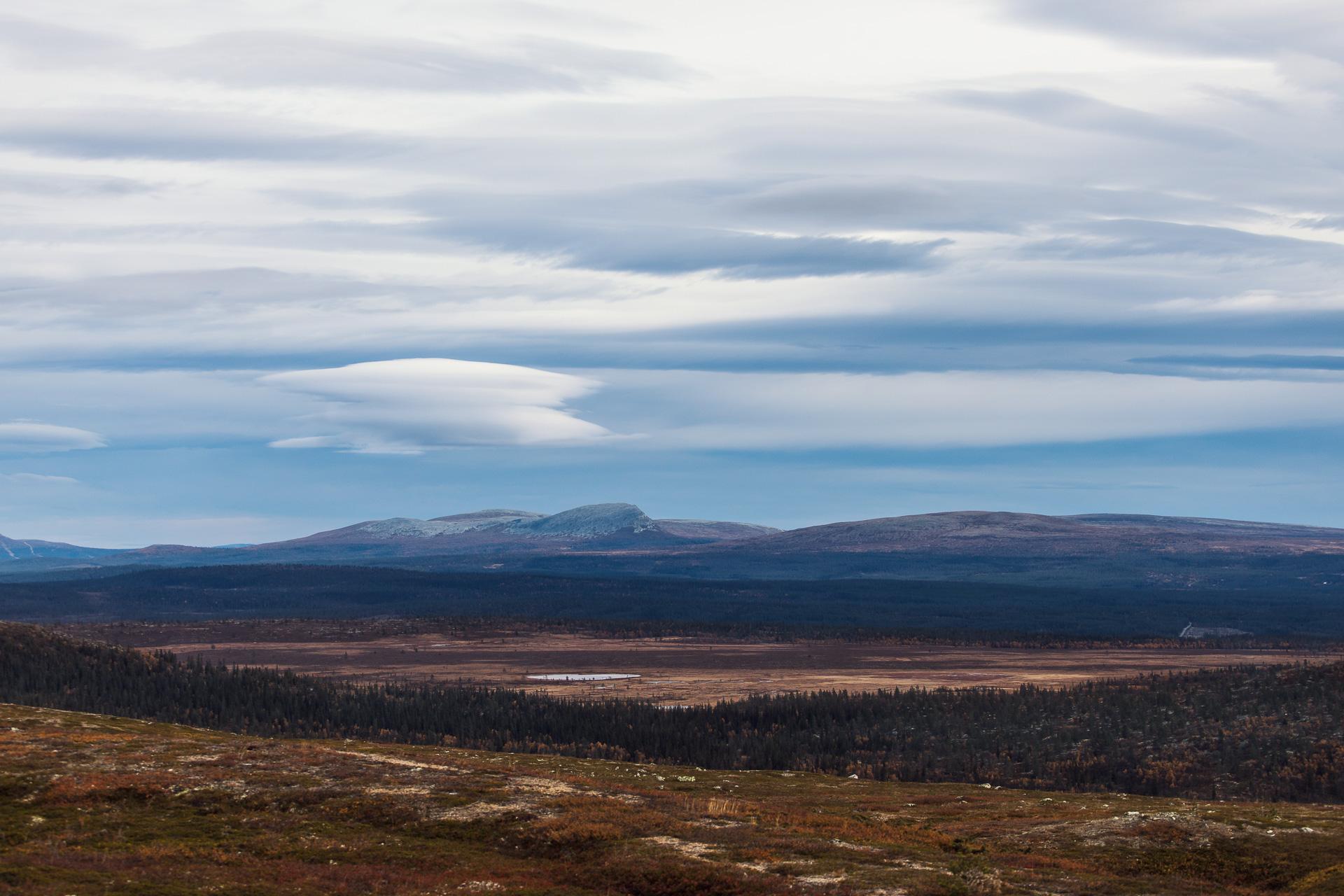 Utsikt från Nipfjället
