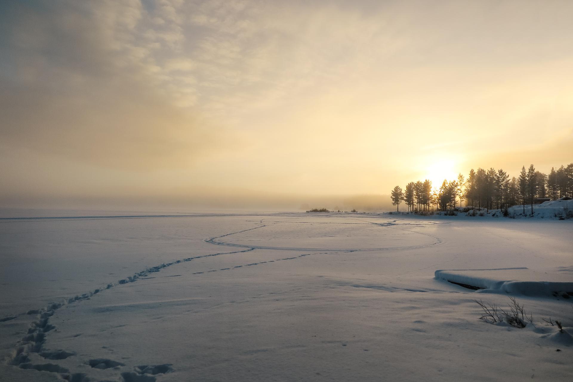 Hemma i Nordomsjön