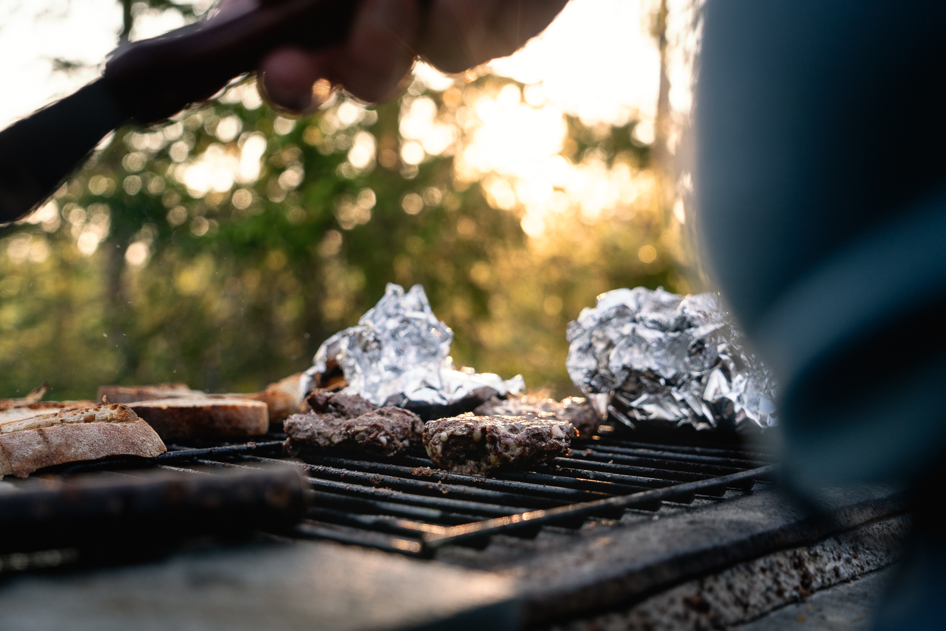 Matlagning på utekök - Huskucabin